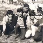 Από αριστερά: Σεμερτζίδης Θεόδωρος, Σεμερτζίδης Σταύρος, Ασλανίδης Ανδρέας, Αναστασιάδης Παύλος, Σεμερτζίδης Λεωνίδας, Ματσάνης Σωτήριος, πίσω ο μικρός, Αναστασιάδης Νικόλαος