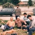 Από αριστερά: Ασλανίδης Αθανάσιος, Ασλανίδης Δημήτριος, Ασλανίδης Παρασκευάς, Ασλανίδης Ιωάννης, όρθιος Ασλανίδης Ανδρέας